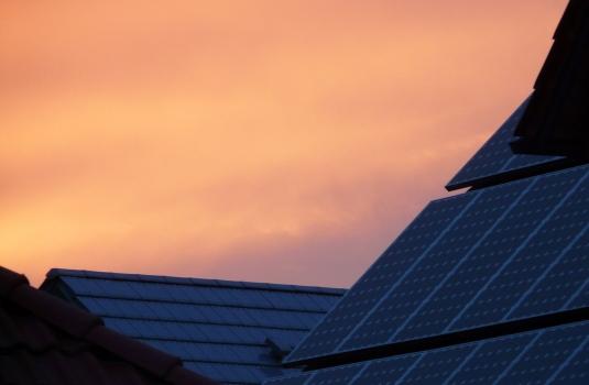 Photovoltaikanlage auf einem Steildach
